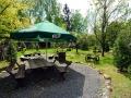 2. Darz Bor w Gruszkach - mijesce ogniskowe w malowniczym ogrodzie