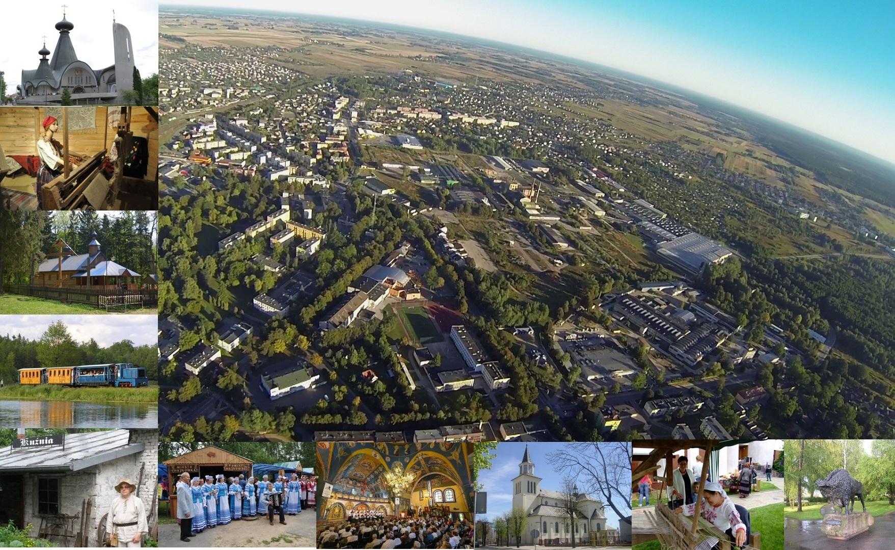 2. Miasto Hajnówka , fot. Archiwum Urzędu Miasta Hajnówka