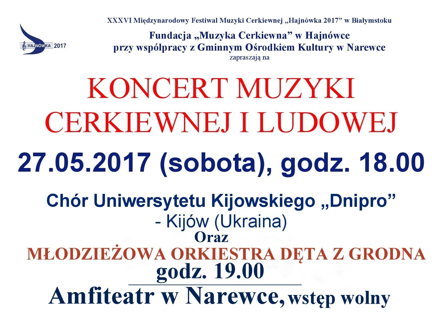 koncert 27.05