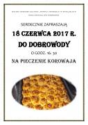 Pieczenie Korowaja plakat