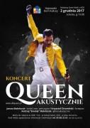 queen akustycznie plakat