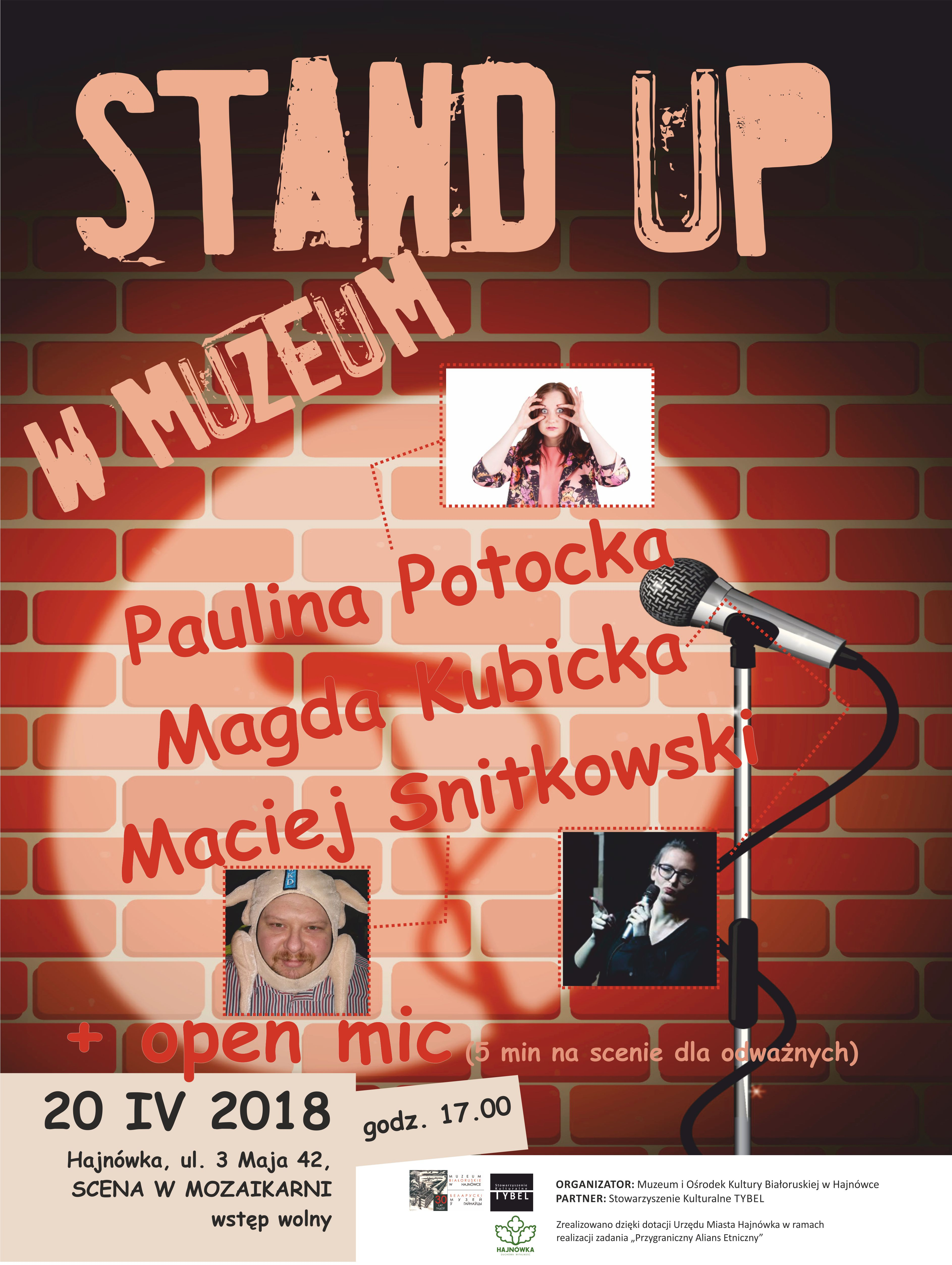 plakat stand up