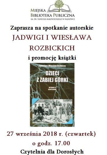 2018.09.27_Rozbiccy_Dzieci_z_żabiej_Gorki_plakat