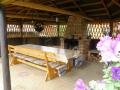 3. Kwatera Bobrowe Ranczo w Bernackim Moscie - altana