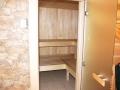 5. Kwatera zubr, wejscie do sauny