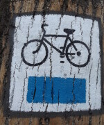 rysunek niebieskiego slzaku - oznakowanie