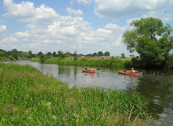 Spływ kajakowy rzeką Narew