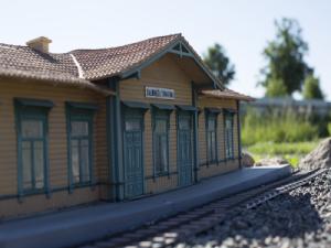 Miniatura Stacji Białowieża Towarowa